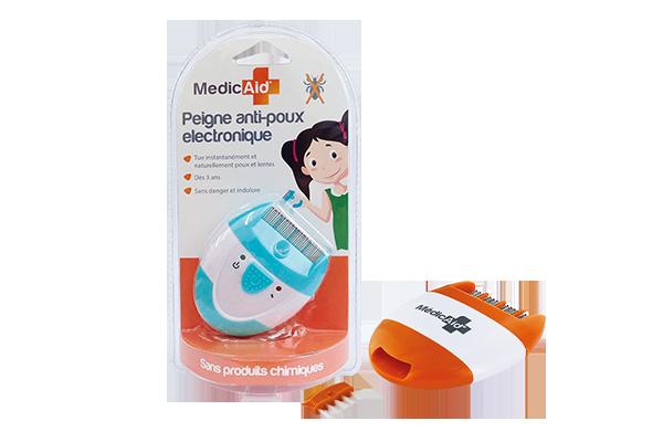 peigne anti poux electronique